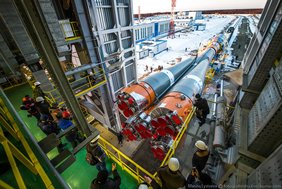 The Vostochny space centre first launch is ready 13
