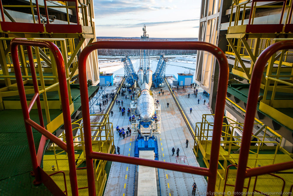 The Vostochny space centre first launch is ready 15