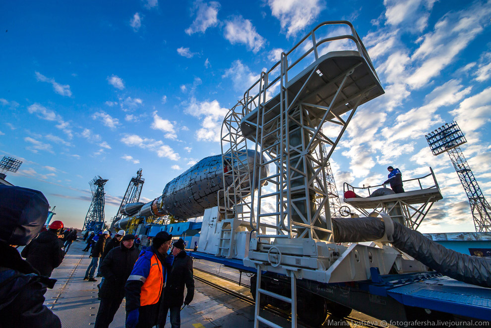 The Vostochny space centre first launch is ready 16