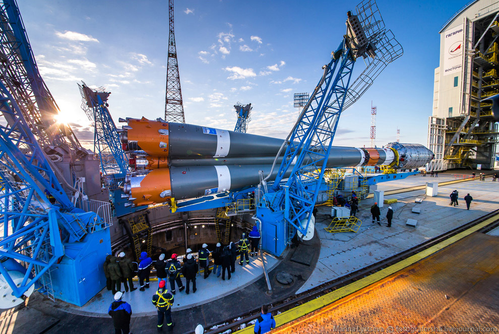 The Vostochny space centre first launch is ready 17