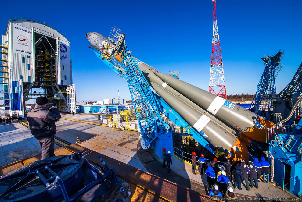 The Vostochny space centre first launch is ready 18