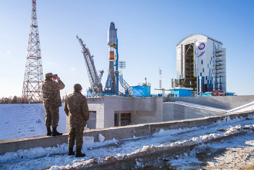 The Vostochny space centre first launch is ready 20