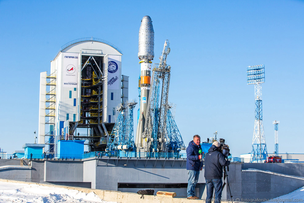 The Vostochny space centre first launch is ready 21