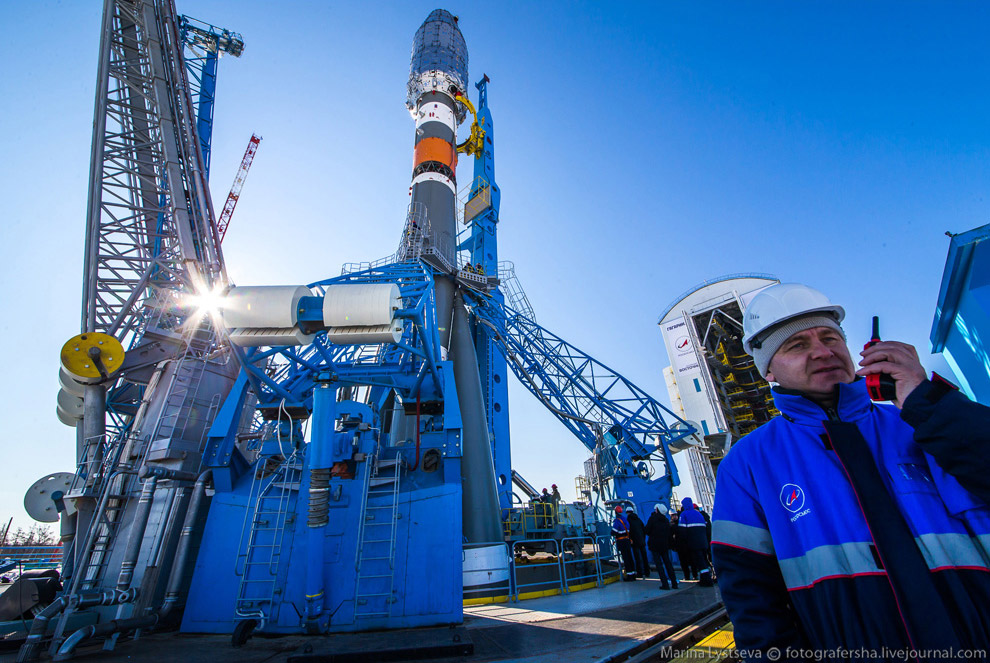 The Vostochny space centre first launch is ready 22