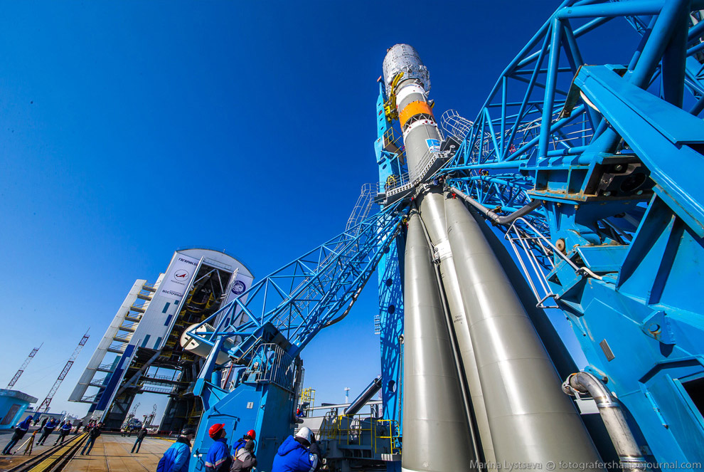The Vostochny space centre first launch is ready 23