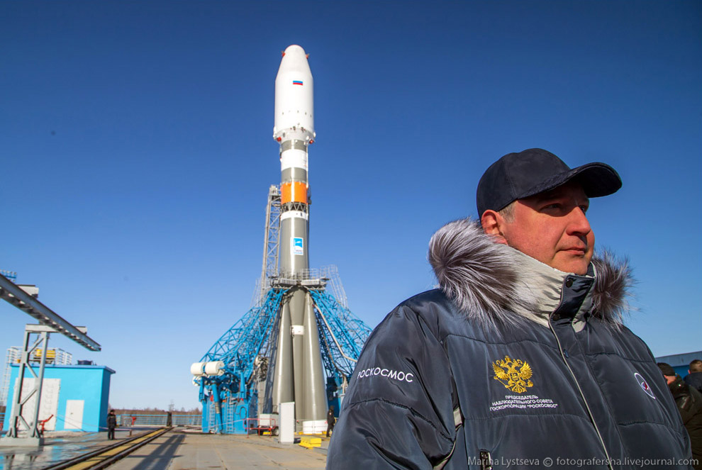 The Vostochny space centre first launch is ready 25