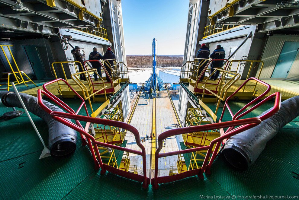 The Vostochny space centre first launch is ready 26
