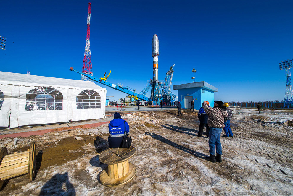 The Vostochny space centre first launch is ready 27