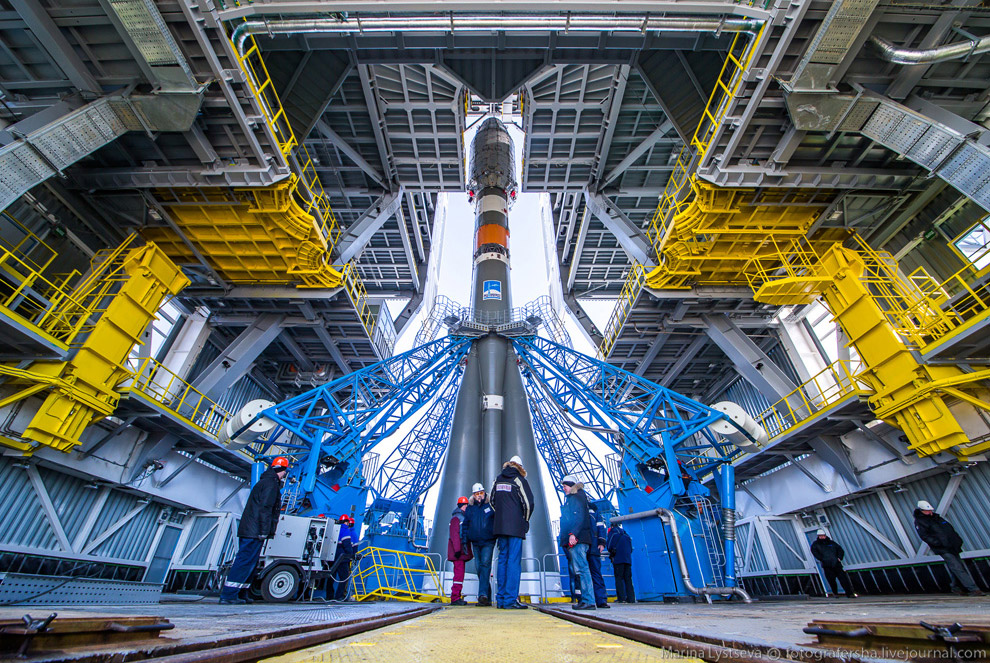 The Vostochny space centre first launch is ready 30
