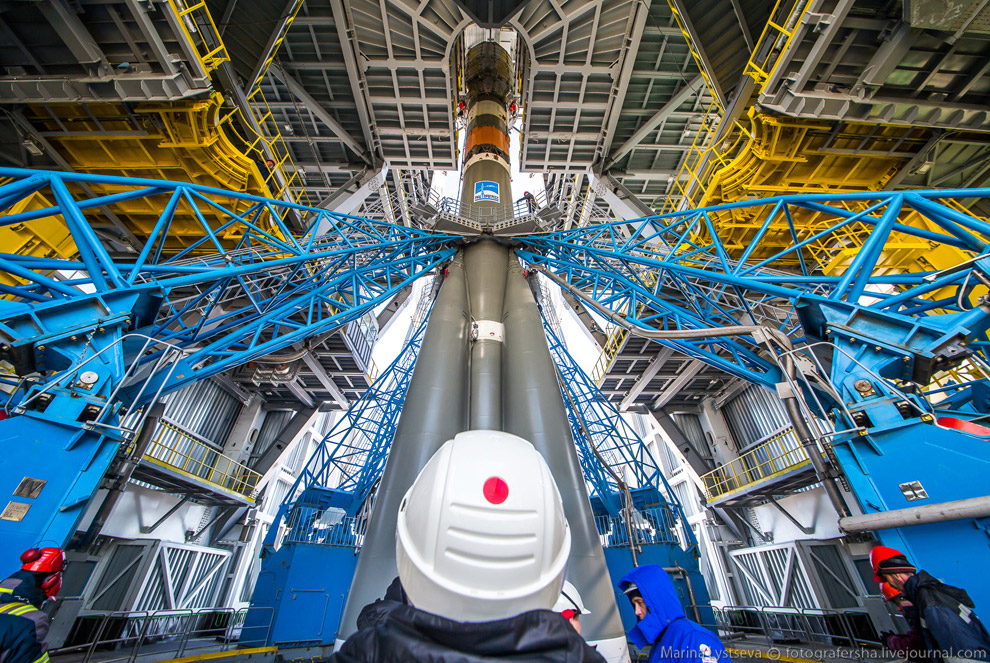 The Vostochny space centre first launch is ready 31