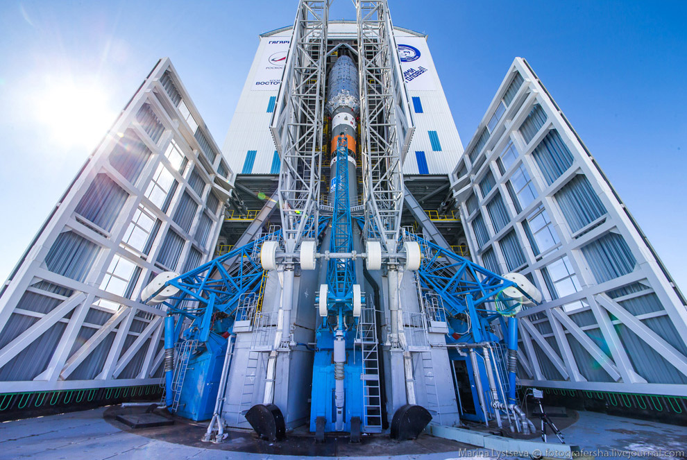 The Vostochny space centre first launch is ready 33