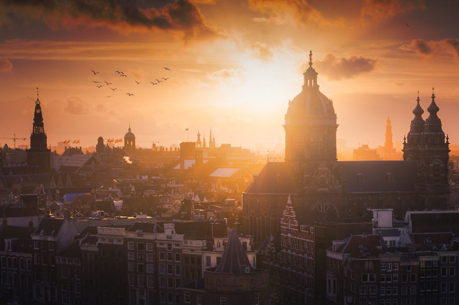 The beauty of the Netherlands in photographs by albert Dros 05