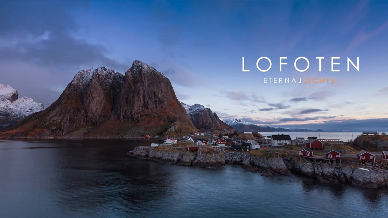 Timelapse video. journey to the Lofoten Islands
