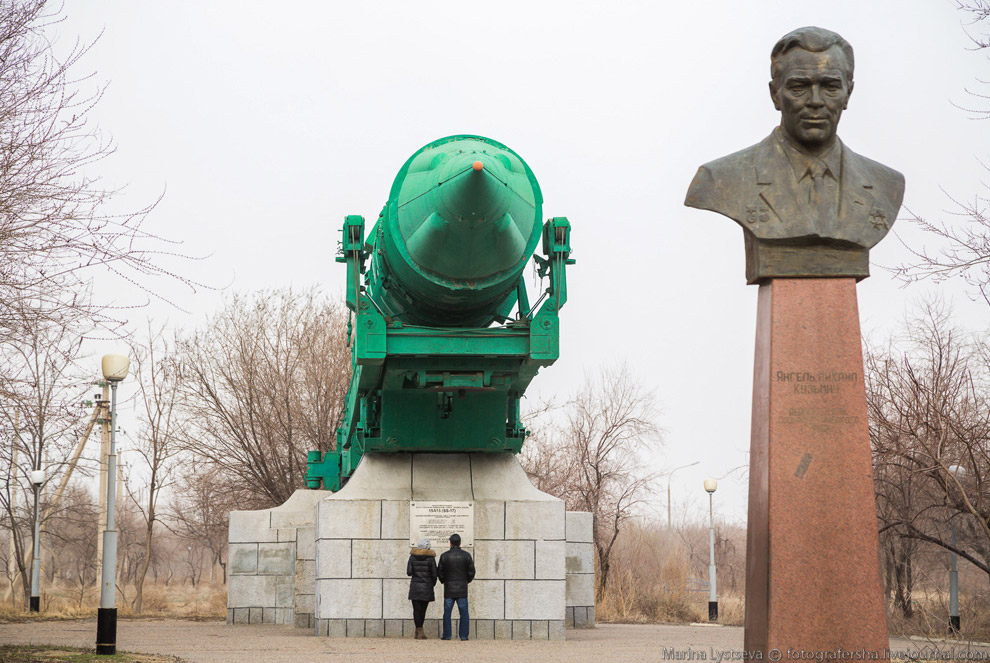 Walk on Baikonur 21