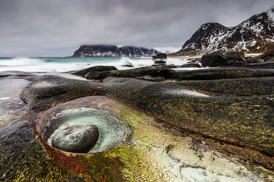 Winter landscapes of the Lofoten Islands 03