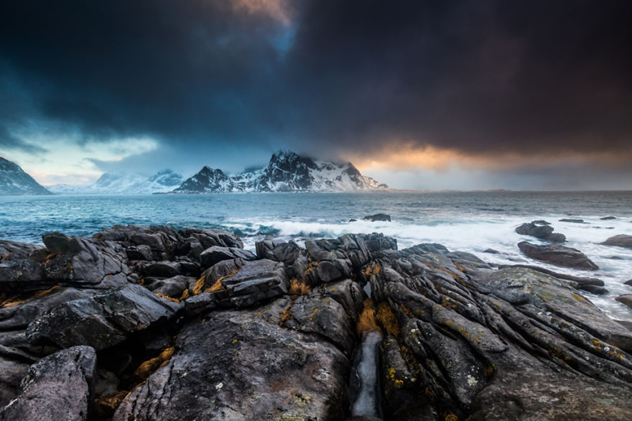 Winter landscapes of the Lofoten Islands 05