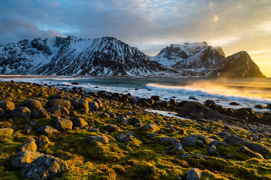 Winter landscapes of the Lofoten Islands 07