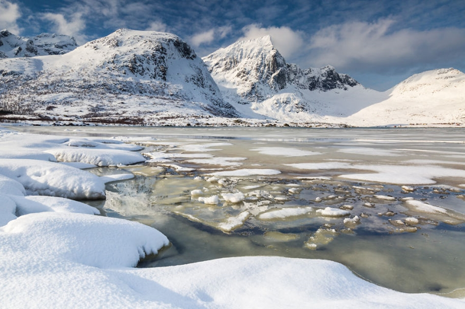 Winter landscapes of the Lofoten Islands 10
