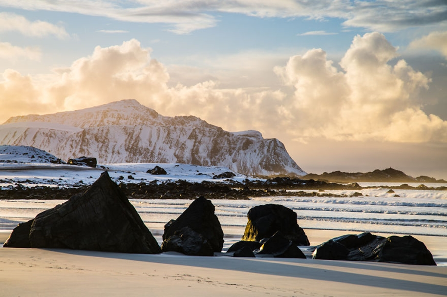 Winter landscapes of the Lofoten Islands 13