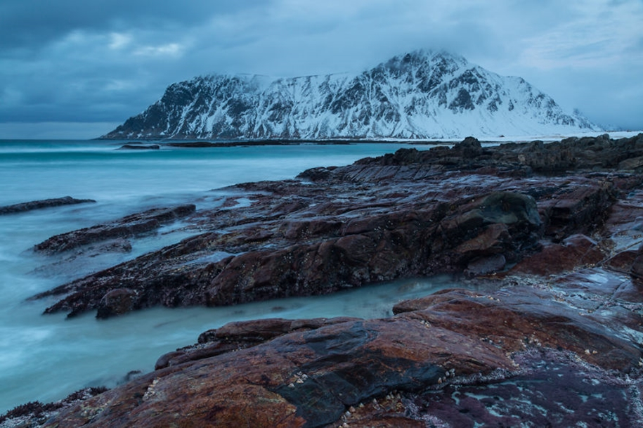 Winter landscapes of the Lofoten Islands 14