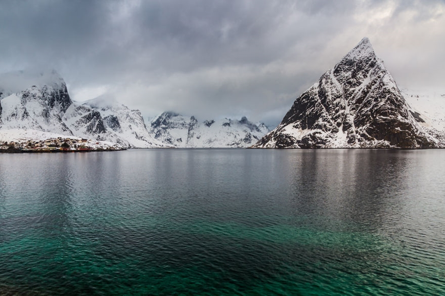 Winter landscapes of the Lofoten Islands 15
