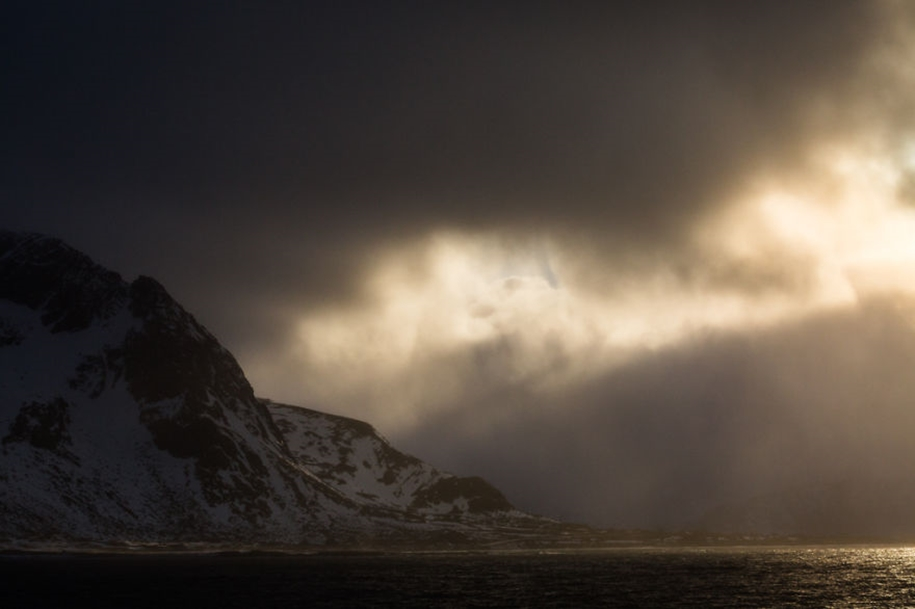 Winter landscapes of the Lofoten Islands 17