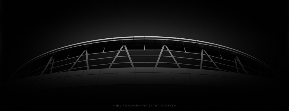Black and white architecture from the photographer Jina Mikami 11
