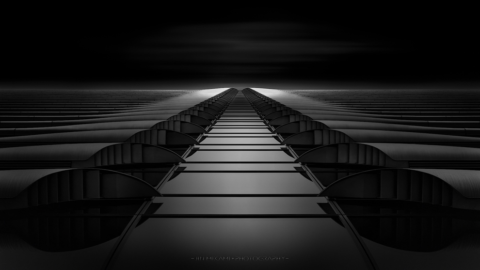 Black and white architecture from the photographer Jina Mikami 24