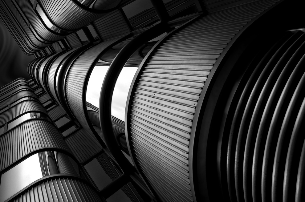 Black and white architecture from the photographer Jina Mikami 25