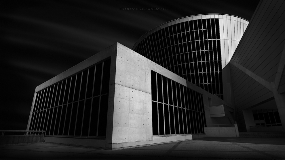 Black and white architecture from the photographer Jina Mikami 27