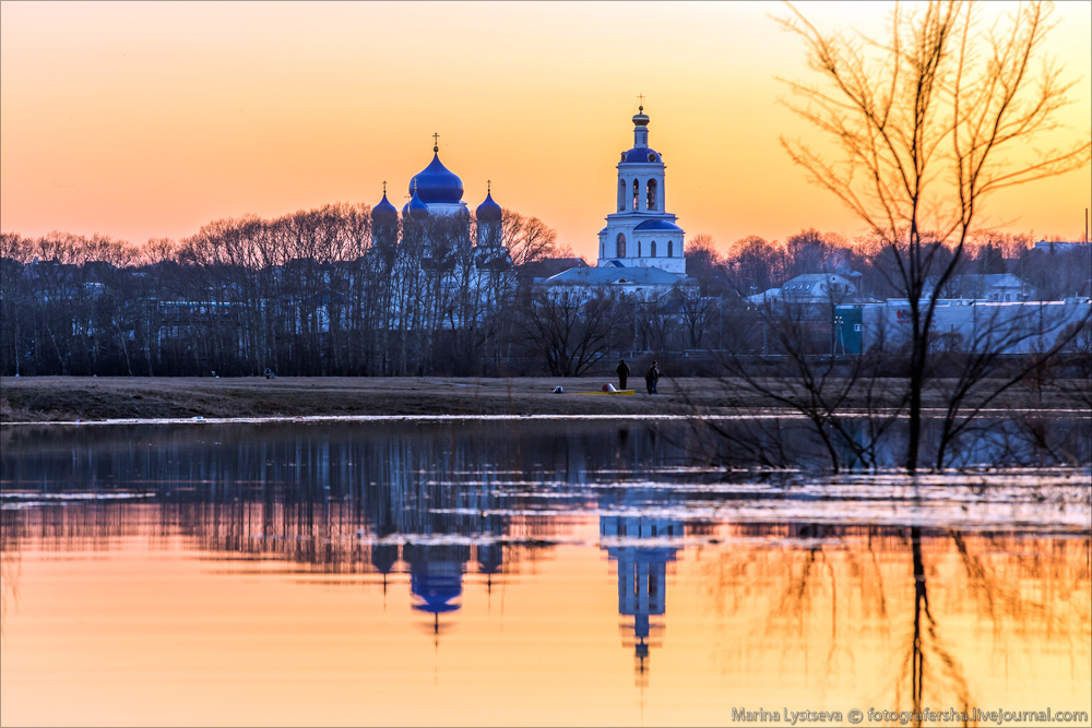 Church of the Intercession on the Nerl dawn 06