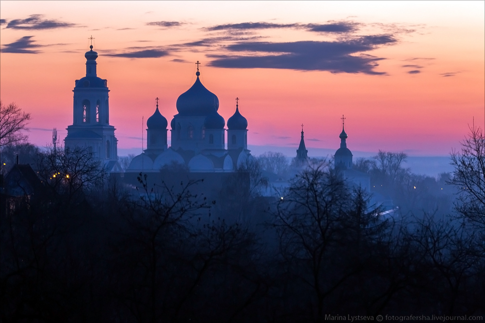 Church of the Intercession on the Nerl dawn 09