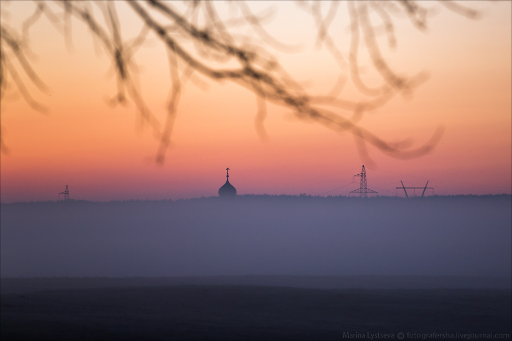 Church of the Intercession on the Nerl dawn 12