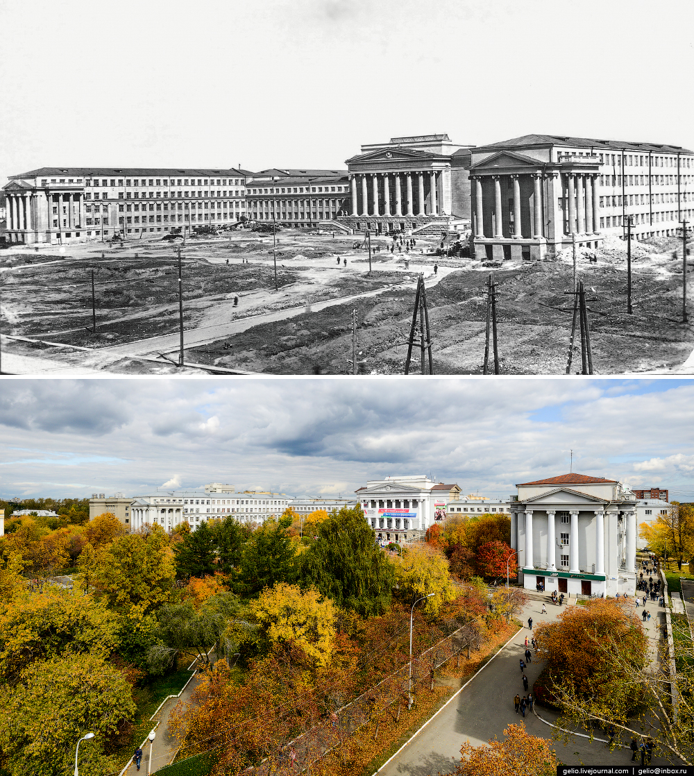 Ekaterinburg. Then and now 23