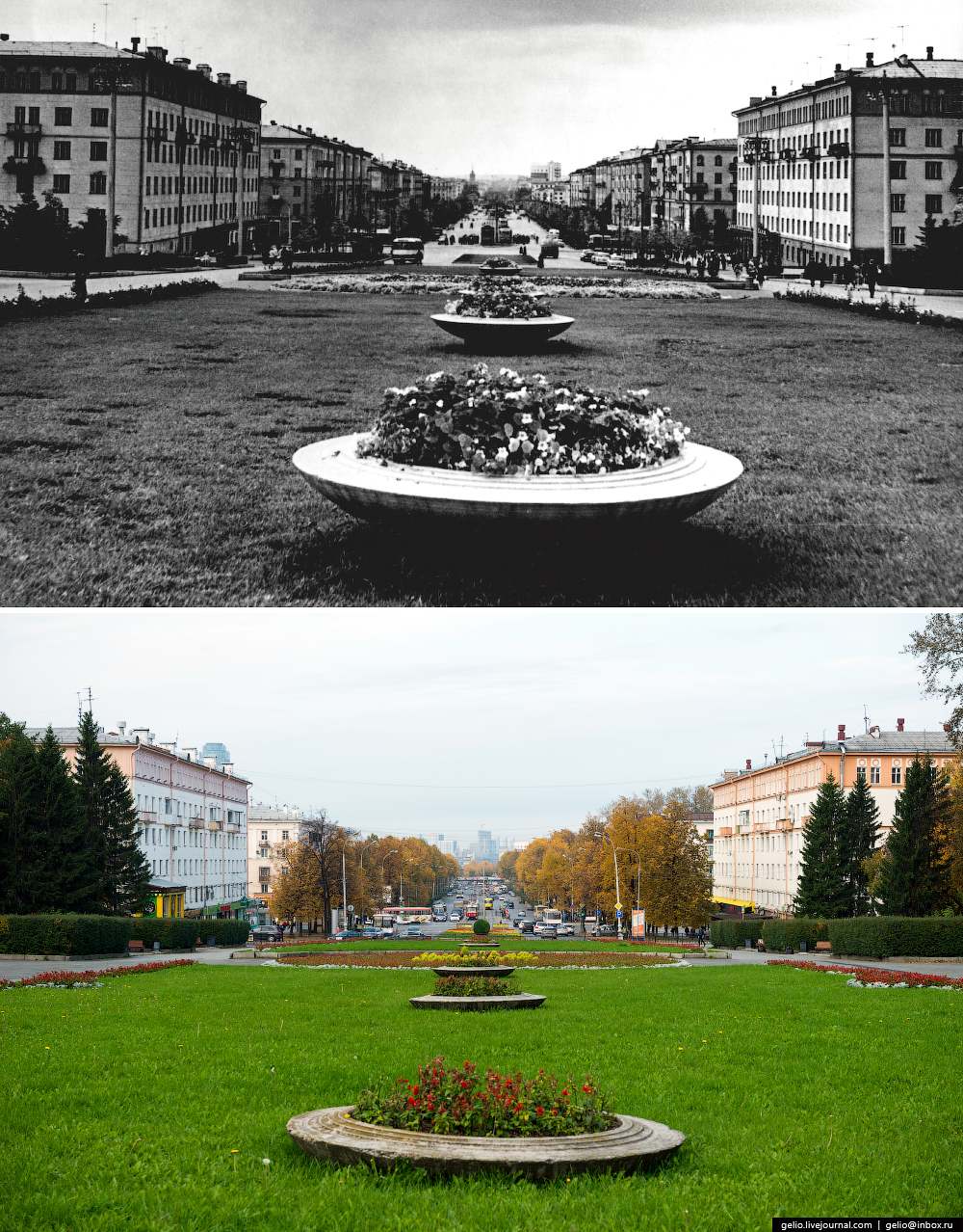Ekaterinburg. Then and now 24