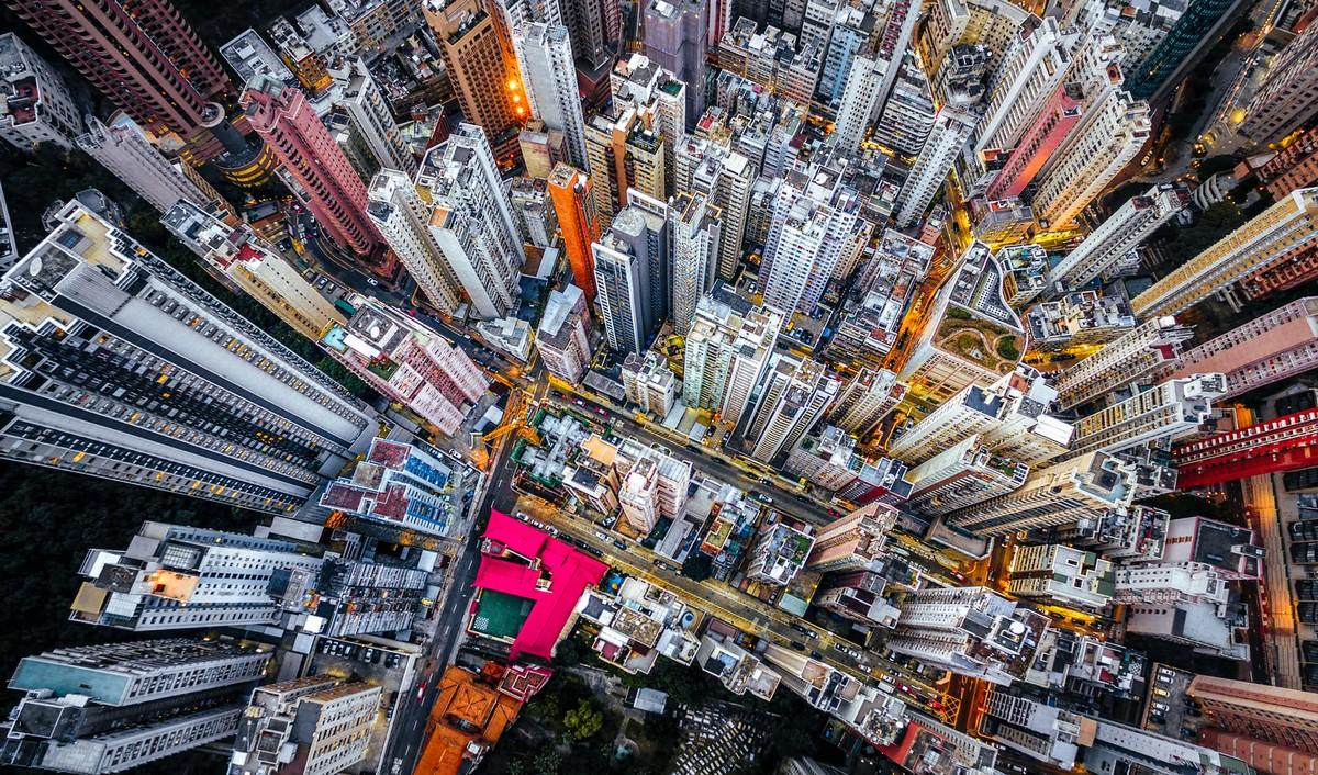Hong Kong from a height 02