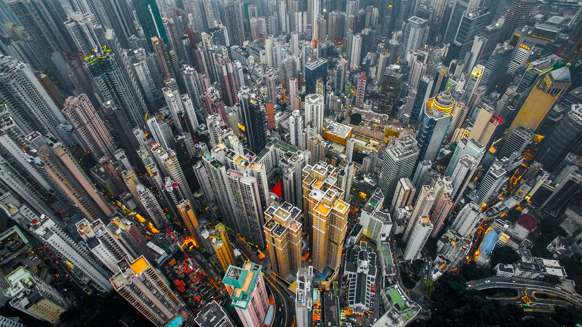 Hong Kong from a height 03