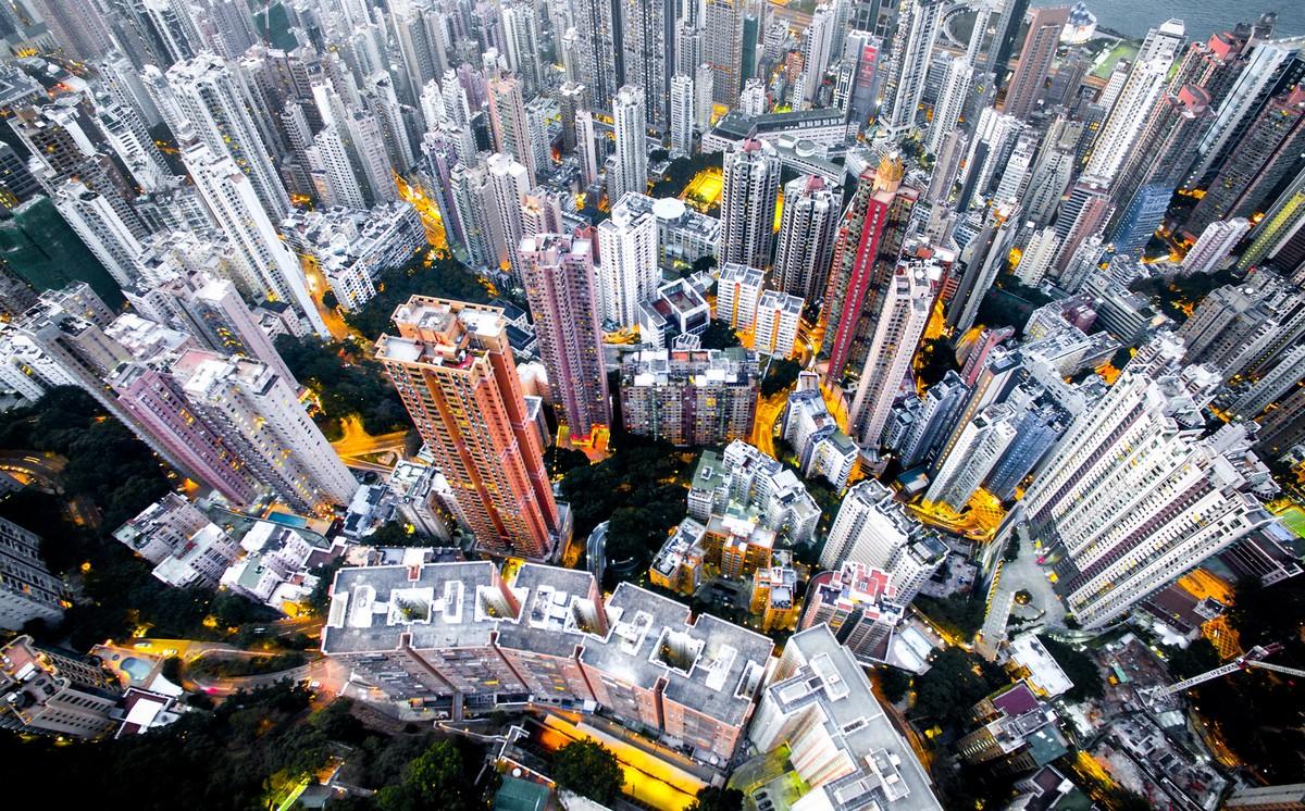Hong Kong from a height 04