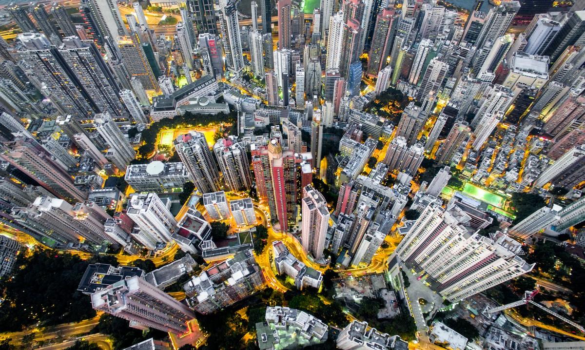 Hong Kong from a height 05