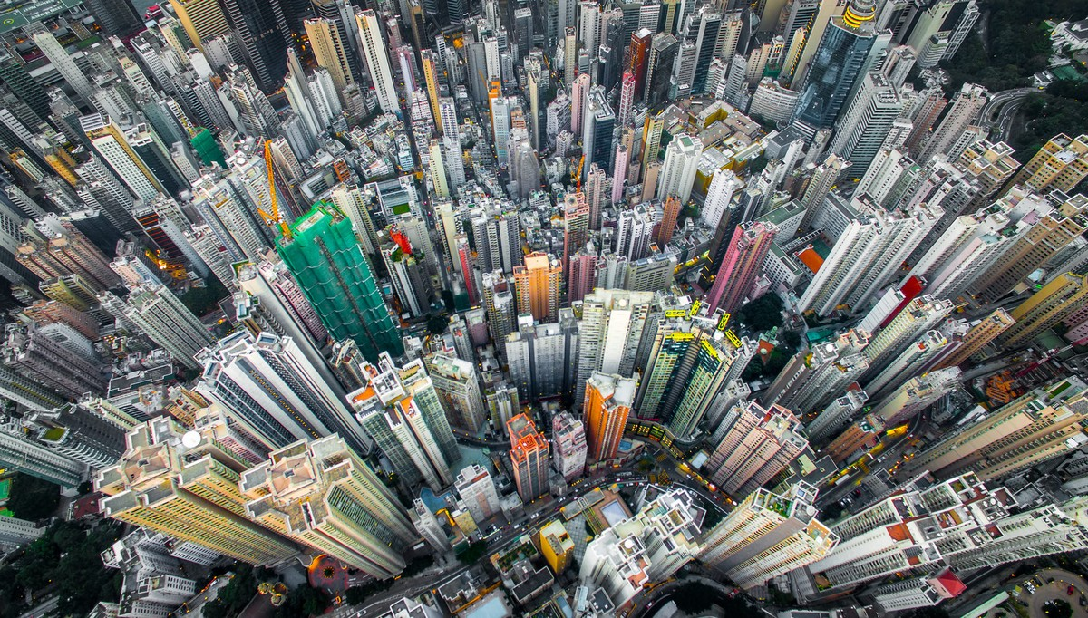 Hong Kong from a height 06