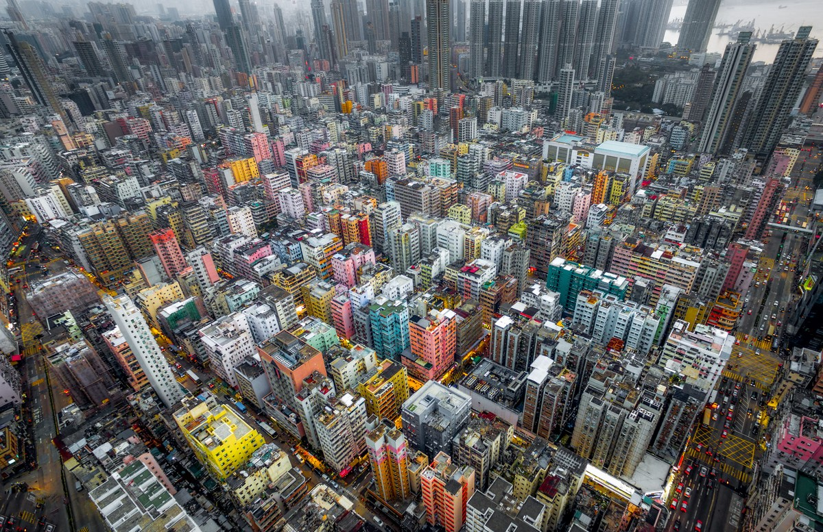 Hong Kong from a height 07