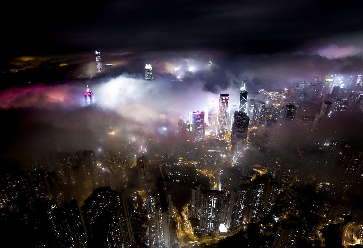 Hong Kong from a height 08