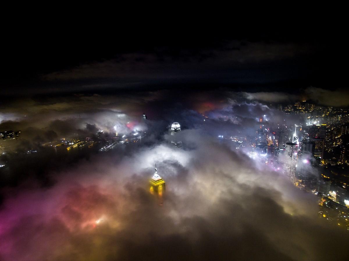 Hong Kong from a height 11