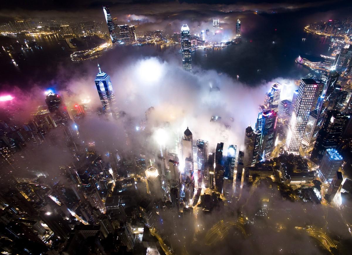 Hong Kong from a height 13