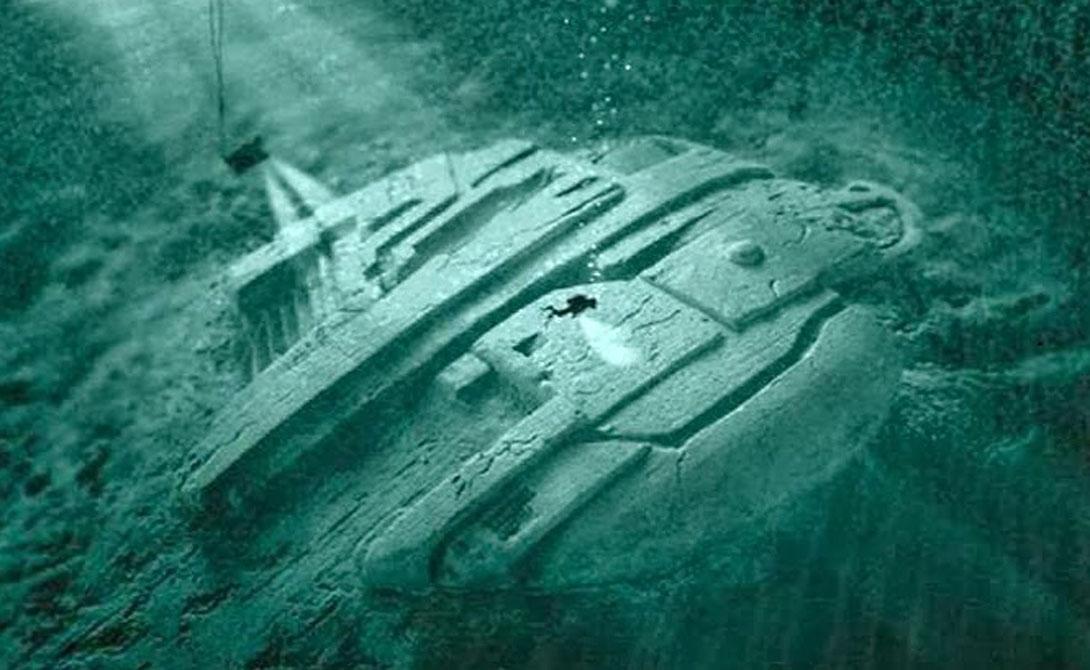 In the Baltic sea, found a strange spacecraft 02