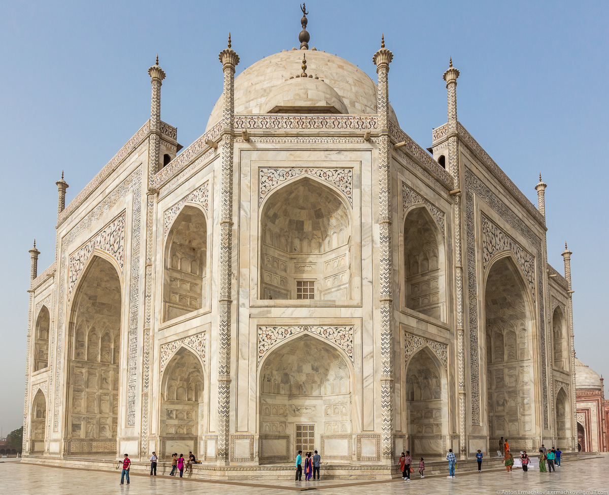 Incredible Taj Mahal 19