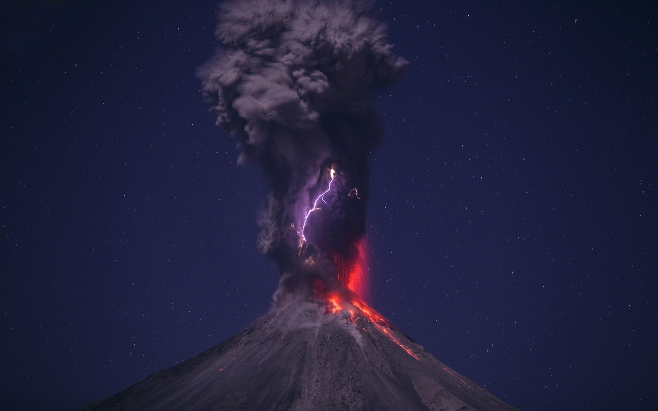 Interesting pictures of volcanoes 25