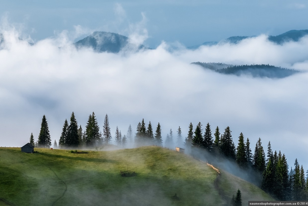 Picturesque highlands of the Carpathian mountains for an unforgettable vacation 07
