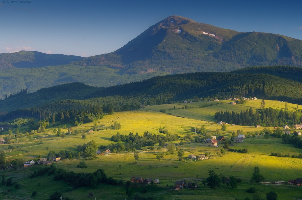 Picturesque highlands of the Carpathian mountains for an unforgettable vacation 23