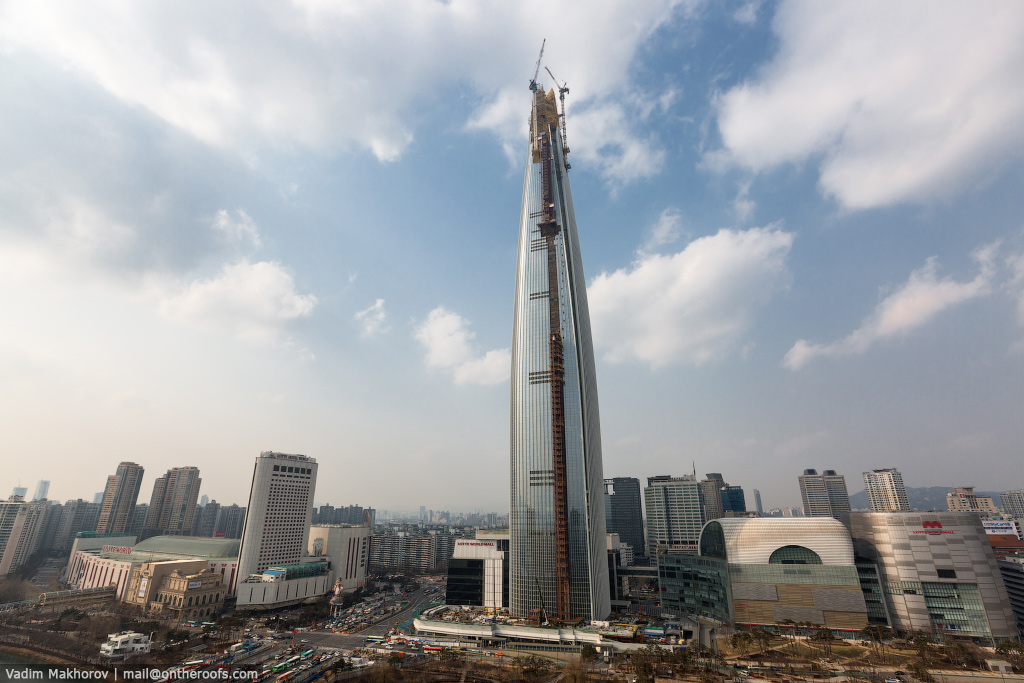 South Korea and the skyscraper, the Lotte World Premium Tower 01